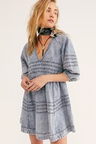 Free People Sweet Surrender Denim Mini Dress