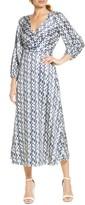 Ali & Jay New Horizons Satin Midi Dress
