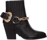 Versace Paris Heeled Ankle Boots