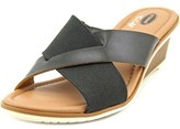 Dr. Scholl's Gilly Women Open Toe Canvas Wedge Sandal.