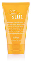 philosophy here comes the sun age-defense golden glow self-tanner for body