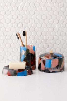 Urban Outfitters Multicolor Resin Soap Dish