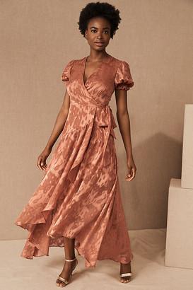Hutch Biscayne Dress By in Orange Size XS