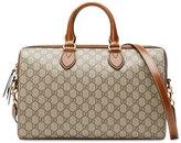 Gucci GG Supreme Top-Handle Bag, Brown