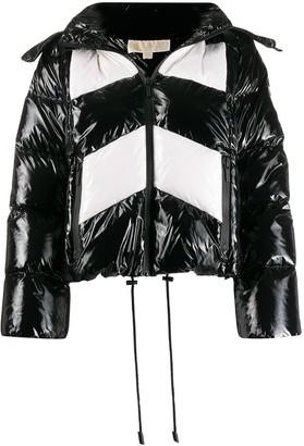 MICHAEL Michael Kors Cire colour block puffer jacket