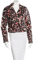 Rebecca Minkoff Printed Leather Jacket w/ Tags