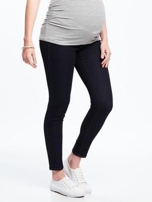 Old Navy Maternity Premium Full-Panel Rockstar Jeans