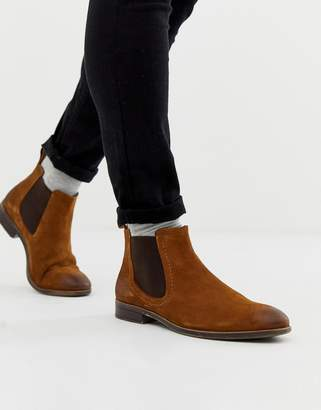 Pier 1 Imports chelsea boots in tan leather