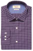 Original Penguin Men's Check Cotton Dress Shirt