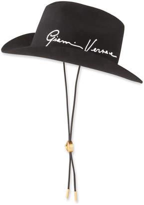 Versace Gianni Signature Cowboy Hat