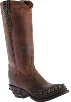 Lucchese Women's Since 1883 M4601. S82F Rounded Spring Toe Stud Wingtip Boot
