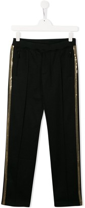 DSQUARED2 Sequin Stripe Trousers
