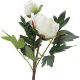 OKA Faux Peony Flower Stem, Small