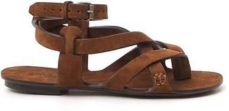 Saint Laurent Crossover Strapped Sandals