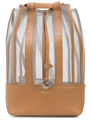 3.1 Phillip Lim Billie mesh drawstring backpack