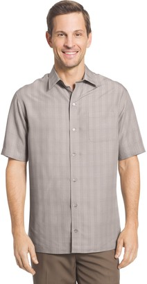 Van Heusen Men's Classic-Fit Dobby Button-Down Shirt