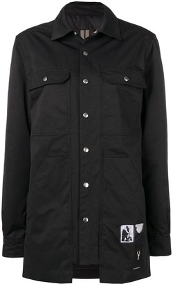 Rick Owens Cargo Outershirt Jacket