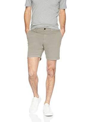 "Goodthreads Men's 7"" Inseam Flat-Front Stretch Chino Short"
