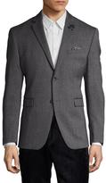 Original Penguin Birdseye Wool Notch Lapel Sportcoat