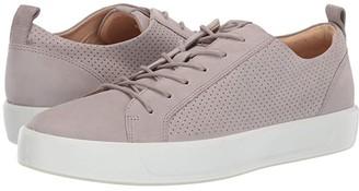 Ecco Soft 8 Summer Sneaker (Moon Rock) Men's Shoes