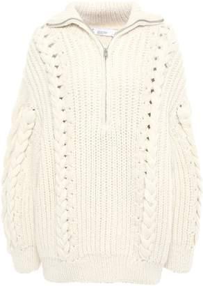 IRO Pure Cable-knit Alpaca-blend Sweater