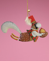 Patience Brewster Tin Mr. Squirrel Ornament