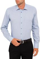 Calvin Klein Dobby Crosses Slim Fit Shirt