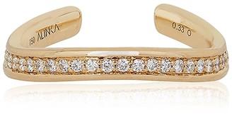 Alinka Jewellery Tania Thumb Ring Full Surround Yellow Gold