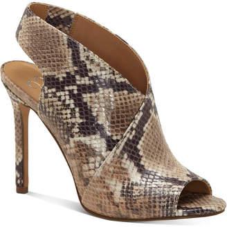 Jessica Simpson Jourie High-Heel Peep-Toe Shooties Women Shoes