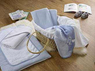 Clair De Lune My First Moses Gift Basket - Blue