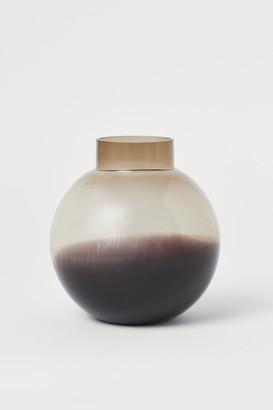 H&M Round Glass Vase
