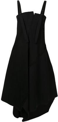 Y's Draped Pinafore Dress
