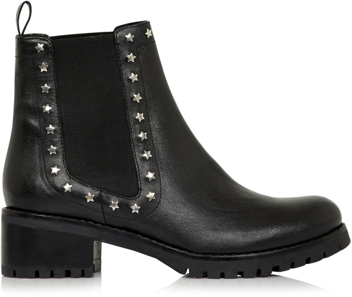 23557990ad5 Long Tall Sally LTS Star Stud Chelsea Boot