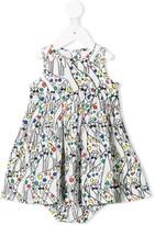 Stella McCartney Giraffe print short dress