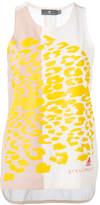 adidas by Stella McCartney Essential graphic print tank top