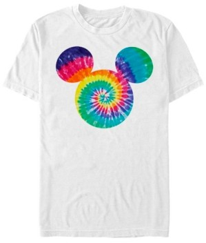 Fifth Sun Men's Mickey Tie Dye Short Sleeve T-Shirt