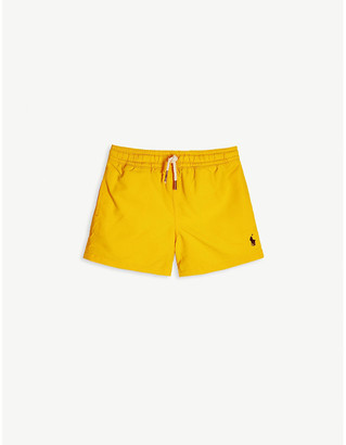 Ralph Lauren Logo-print swim shorts 2-14 years