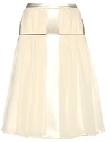 Christopher Kane Satin And Silk Skirt