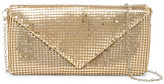 Jessica McClintock Metal Mesh Envelope Evening Clutch