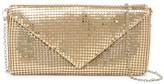 Jessica McClintock Metal Mesh Envelope Evening Clutch