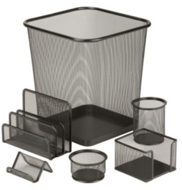 Honey-Can-Do 6-pc. Mesh Desk Set