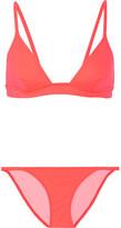 Solid and Striped - The Morgan Triangle Bikini - Coral