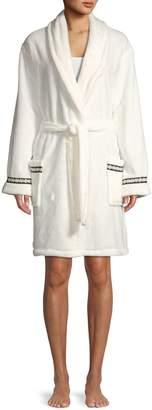DKNY Shawl Lapel Robe