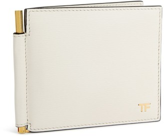 Tom Ford Leather Money-Clip Wallet