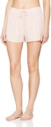 Palmers Women's Schlafanzug Shorts Summer Leaves Pyjama Bottoms