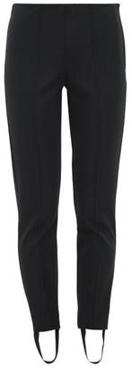 Capranea - Stirrup-cuff Ski Trousers - Black Multi