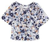 Chloé Printed cotton top