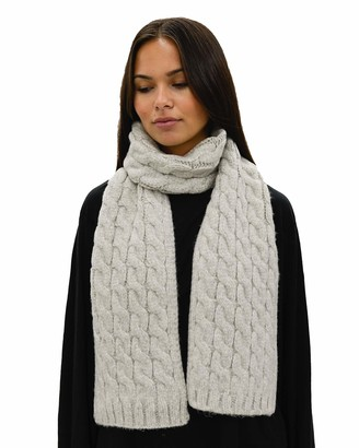 Lemon Knotting Hill Wool Cable Scarf