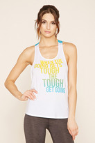 Forever 21 FOREVER 21+ Active Tough Graphic Tank