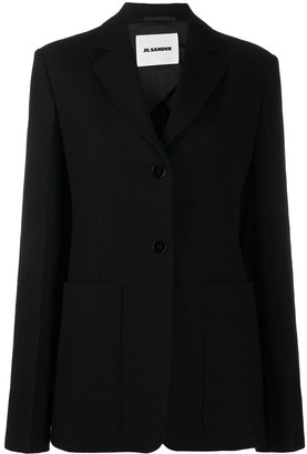 Jil Sander Single Breasted Buttoned Blazer